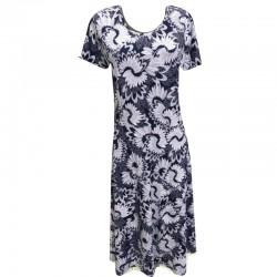 Разкроена макси рокля  B10
