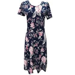 Разкроена макси рокля  B20