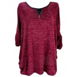 Макси блуза В132