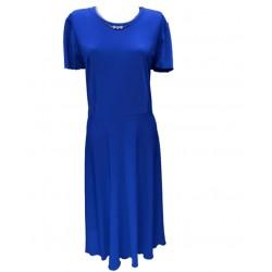 Разкроена макси рокля в...