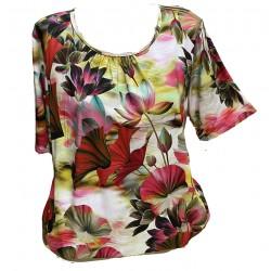 Блуза в свежи цветове В10