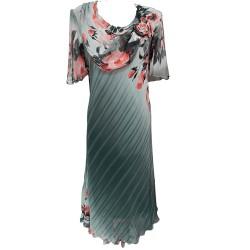Елегантна рокля шифон Р59