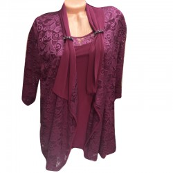 Дантелена блуза от 2 части...