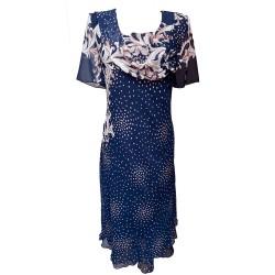 Елегантна рокля шифон Р63
