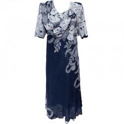Елегантна рокля шифон Р79