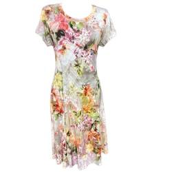 Разкроена макси рокля К81
