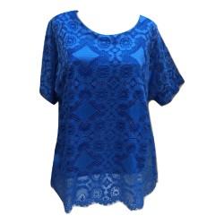 Макси блуза дантела  B201