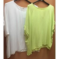 МАКСИ памучна  блуза D300