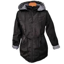 Двулицево яке в черно  и бяло