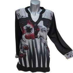 Стилна туника тип риза 601