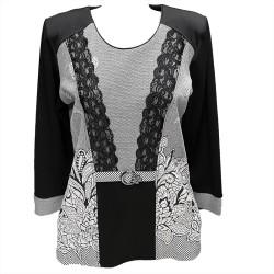 Стилна блуза В670