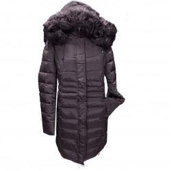 Топло яке с качулка  R70 бордо