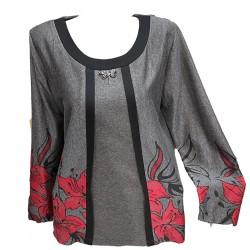 Блуза тип сако В420