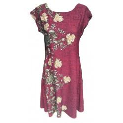 Разкроена рокличка с цветя