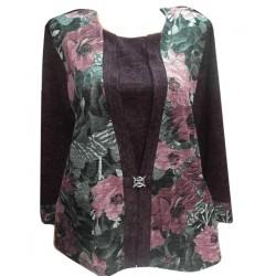 Блуза В480