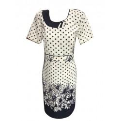 Eлегантна  рокля Карина точки