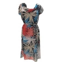 Лятна разкроена рокля...