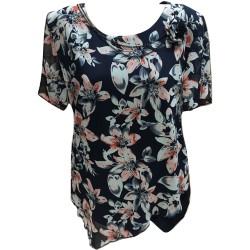 Ефирна макси блуза с шифон...
