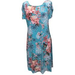 Разкроена лятна рокля P66