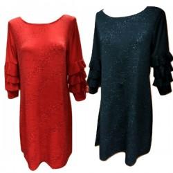 Ефектна рокля-туника А12